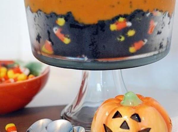 Black Velvet Halloween Trifle Recipe