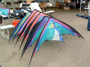 Photo: Berkeley Kite Festival Custom Rainbow E2s by Prism kites.