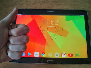 Photo: Stephen P. - Samsung Galaxy Note 10.1 (2014)