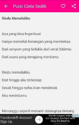 Puisi Cinta Sedih Terbaik Apk Download Apkpure Co