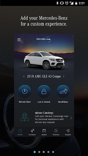 Mercedes me (USA) Screenshot