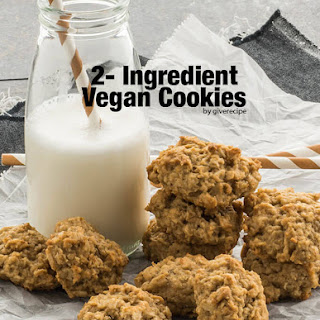 2-Ingredient Vegan Cookies