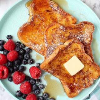 Eggless French Toast [Vegan].
