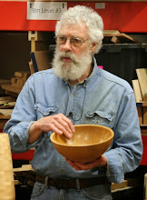Photo: He was surprised by the lightness of this relatively large bowl by Tim Aley -- and learned that it's paulownia.