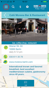 Berlin Kiez App- screenshot thumbnail
