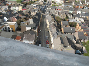 Photo: View over Cork from St. Anne's Church, Cork