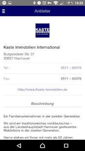Kaste Immobilien Hannover- screenshot thumbnail