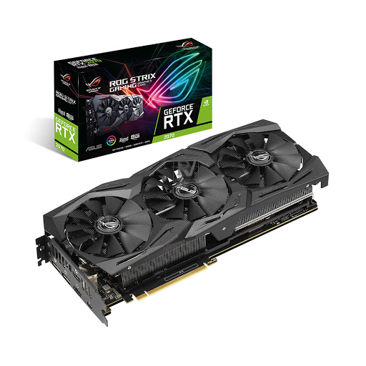 Card màn hình Asus Rog Strix GeForce RTX 2070 Advanced edition 8GB GDDR6 (ROG-STRIX-RTX2070-A8G-GAMING)
