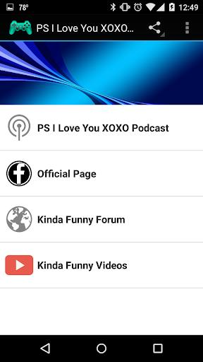 PS I Love You XOXO Fan App