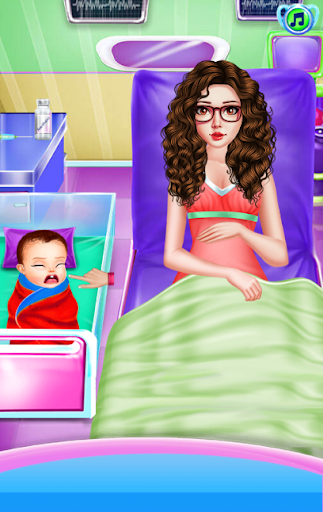 Newborn Care Game Pregnant games Mommy in Hospital 4.0.0 screenshots 2