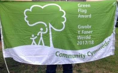A Green Flag Day celebration