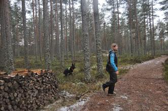 Photo: Vilma kommer inn til en fin passering