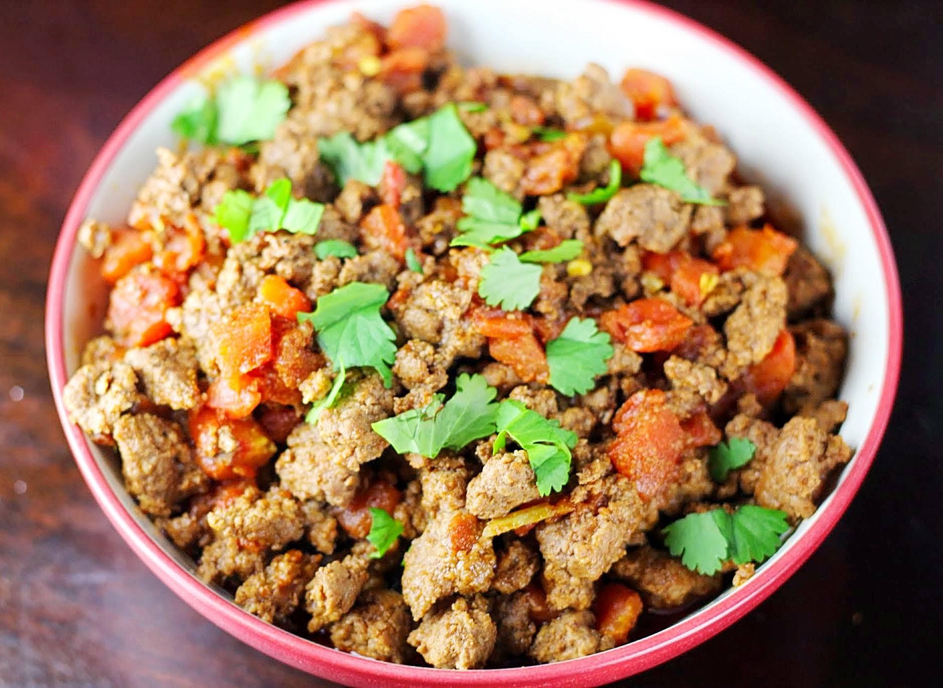 20-Minute Paleo Burrito Bowls with Broccoli Slaw