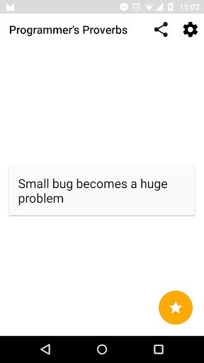Programmer's Proverbs