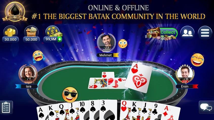 Batak Club: Online Batak Eşli Batak İhaleli Batak Screenshot