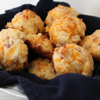 Ham and Cheese Biscuits.