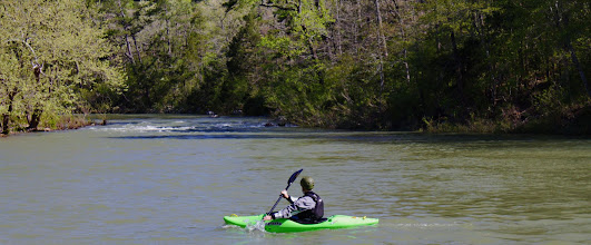 Photo: Kayaking the Cossatot River