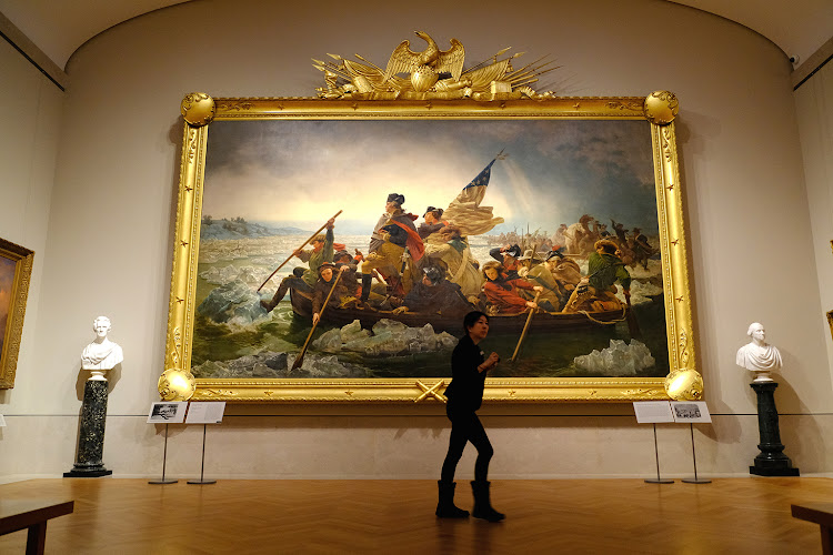 Washington Crossing the Delaware,Metropolitan Musuem of Art