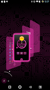 PCB Pink ⁞ TSF Shell 3 Theme - screenshot thumbnail