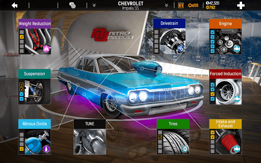 Nitro Nation Drag & Drift Racing screenshot 2