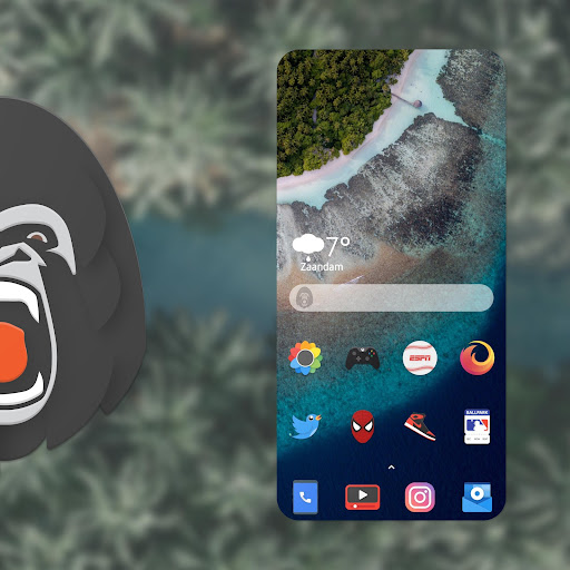 Screenshot for Ineclectic - Material Design Iconpack in United States Play Store
