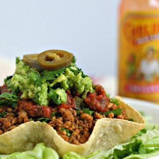 Paleo Taco Shell Bowl.