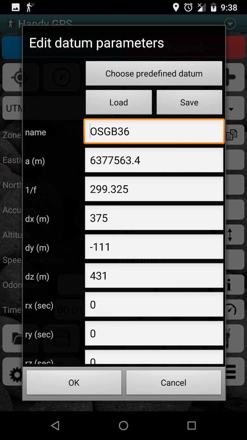 Handy GPS Screenshot 6