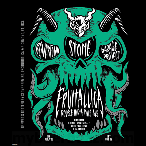 Logo of Beavertown / Garage Project / Stone Fruitallica