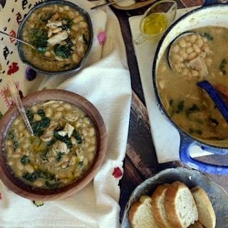 Hearty White Bean Soup.