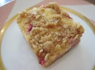 Sour Cream Rhubarb Squares Recipe