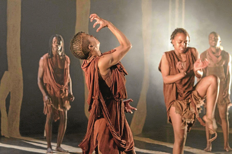 Siva. Dance by Luyanda Sidiya, coming to the State Theatre. Picture: SUPPLIED
