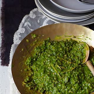 Spinach & Pearl Barley Risotto