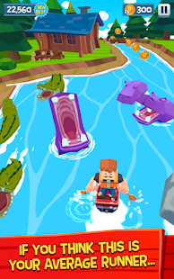 Rowan McPaddles - The Bad Bad River Rush Screenshot