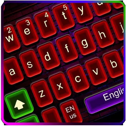 Neon Club Keyboard Theme