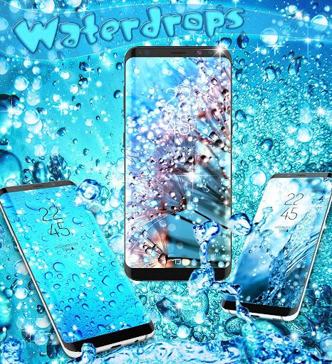 Water drops live wallpaper 8.8 screenshots 6