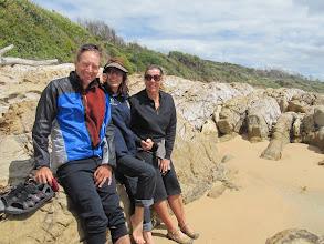 Photo: Year 2 Day 169 - Us and Marie on Dalmeny Beach
