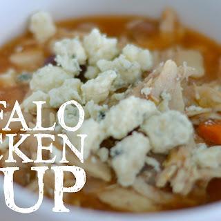 Easy Buffalo Chicken Soup.