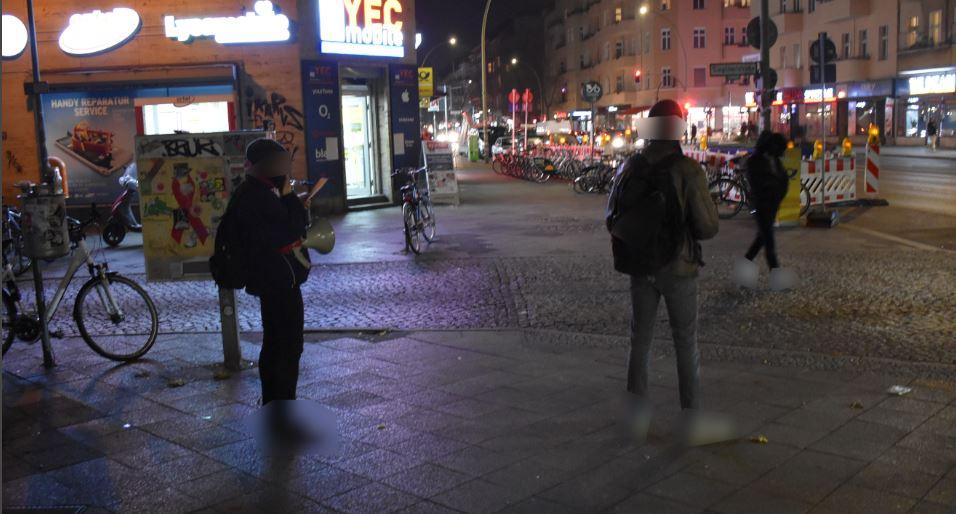Kungebung Tag gegen Gewalt an Frauen Berlin 2020 Neukölln 2