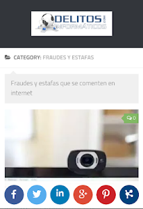 Delitos Informáticos screenshot 2
