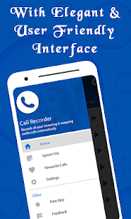 Call Recorder Automatic - Free App 2019 Screenshot