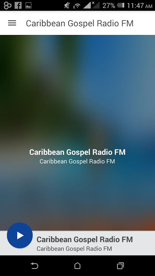 Caribbean Gospel Radio FM- screenshot
