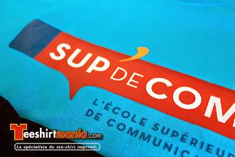 Photo: EPSI IFAG SUP DE COM IDRAC Tshirt personnalisés en transfert sérigraphique