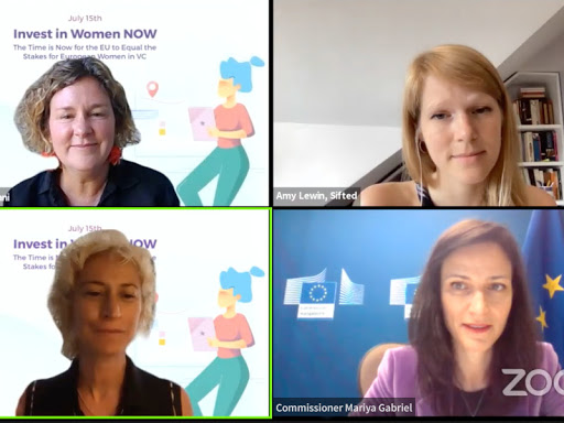 European women in VC call out major funding inequality
