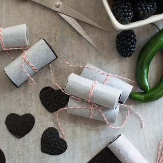 Blackberry-Chile Fruit Leather.