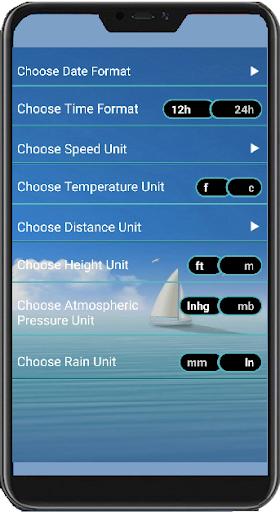 Marine Weather Forecast 29.12 screenshots 4
