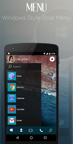 android Win Launcher Theme & Wallpaper Screenshot 1