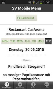 Mobile Menu screenshot 3