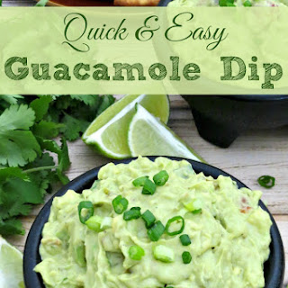 Quick & Easy Guacamole Dip