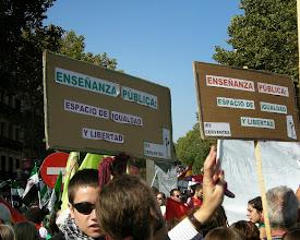 Photo: Manifestación del 22 de octubre de 2011 en favor de  la Educación Pública (Atocha-Sol) 9