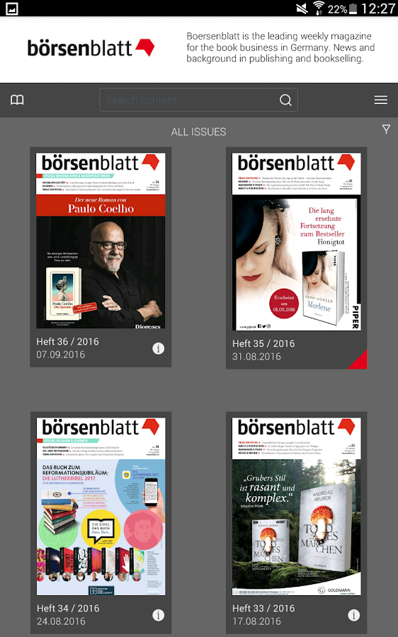 Börsenblatt- screenshot